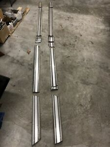 73 79 Ford Truck Chrome Rocker Moulding With Toolbox