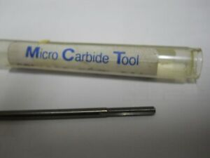 0762 0001 Solid Carbide Reamer Micro Carbide Tool Co Made In Usa