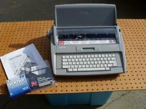 Brother Sx 4000 Electronic Lcd Display Typewriter With Dictionary Excellent Cond