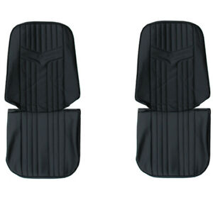 1969 Gto Lemans Front Rear Seat Covers Upholstery Pui New