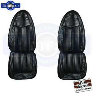 1970 70 Plymouth Duster 340 Front Seat Covers Upholstery Pui New