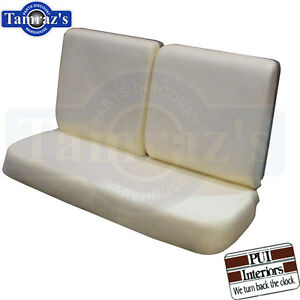 64 67 Gm A Body Front Bench Seat Foam W o Center Armrest Pui New
