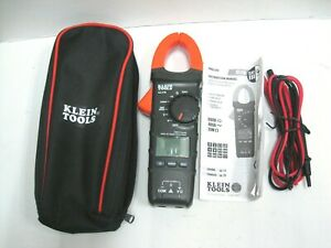 Klein Tools Cl110 400a Auto ranging Digital Clamp Meter With Leads And Case New