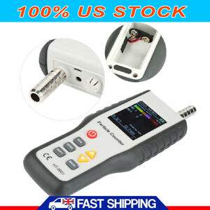 Ht9600 Pm2 5 Detector Air Quality Monitor Particle Counter Gas Dust Analyzer Us