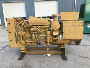 _225 Kw Standby 210 Kw Prime Cat Generator Set Year 1997 Low Hours Selecto