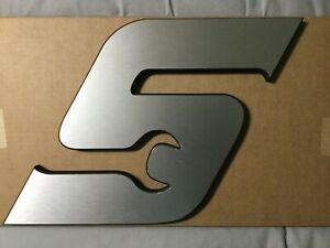 Snap On Tools Metal And Wood s Wrench Logo Plaque New In Box