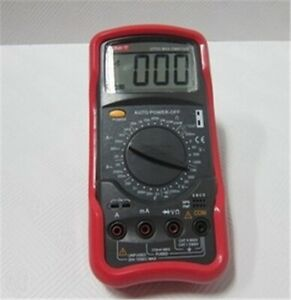 New Uni t Ut53 Lcd Digital Multimeter Ac Dc Volt Amp Ohm Capacitance Temp Tes Bb