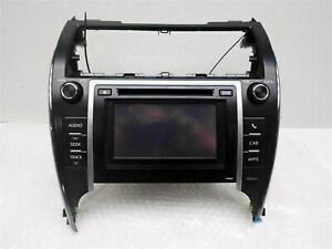2012 2013 Toyota Camry Radio Am Fm Display And Receiver P10067 Oem 86140 06020