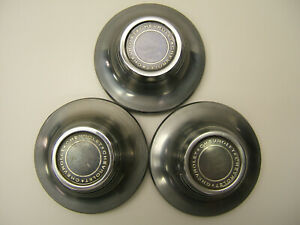Chevy Nova Rally Ss Police Taxi Oem Center Cap set Of 3