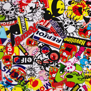 Hydrographic Film Water Transfer Hydrodipping Hydro Dip Sticker Bomb A 1m