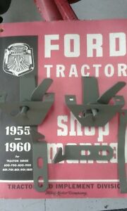 Ford 600 Hood Latch Set