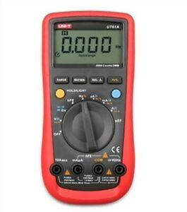Non contact Voltage Tester Ac Dc Voltage Uni t Ut61b Frequency Multimeter Rx