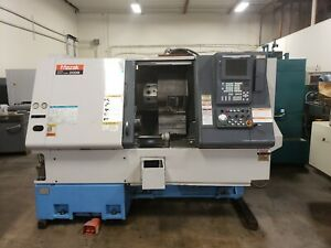 2000 Mazak Super Quick Turn 200m Cnc Lathe With Live Tooling Milling