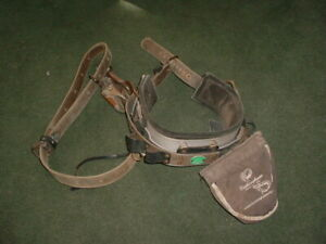 Buckingham Full Float Body Climbing Lineman Belt 1994f W Bag Straps Size 24