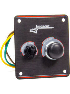 Longacre Switch Panel Dash Mount 3 3 8 X 3 5 8 In 1 Toggle 1 Momen 52 44861