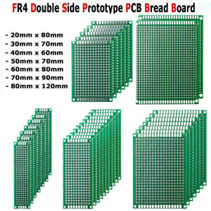 Sizes Prototype Protoboard Diy Double Side Pcb Printed Circuit Board Breadboard