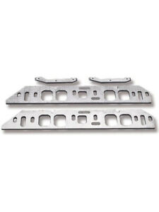 Weiand Intake Manifold Spacer Aluminum Oval Port Tall Deck Big Block Che 8206