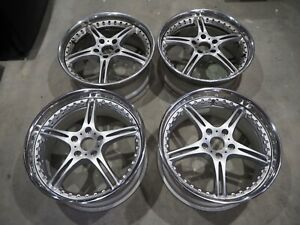 19 Staggered Ssr Gt3 Wheels 19x8 5 Front 19x9 5 Rear 5x120 Rears Are Brand New