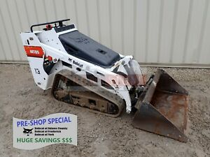 2016 Bobcat Mt85 Mini Track Loader Aux Hydraulics 844 Hours 24 8 Hp Diesel