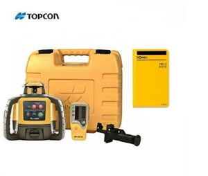 Topcon Rl h5a Self leveling Rotary Laser Level Field Book Ls 80l Receiver Kit