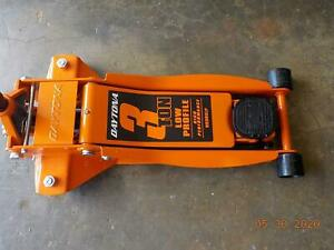 Floor Jack 3 Ton Low Profile Professional Jack W Rapid Pump Orange Daytona