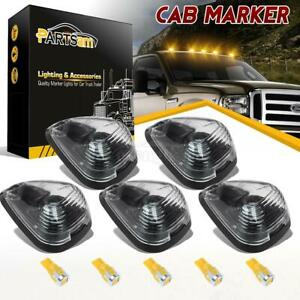 5 Clear Roof Running Light Cab Marker 264143cl Amber 6 5730 Led For Ford 99 16