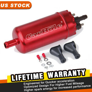Universal External Inline High Pressure Electric Fuel Pump Replace Of 0580464070