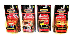 Coca Cola Memorabilia Match Box Collectibles The Enduring Characters Edition Lot
