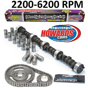 Howards Sbc Small Block Chevy 285 289 480 488 108 Camshaft lifters timing Set