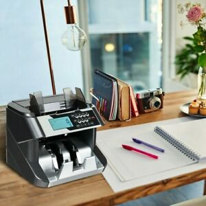 1pc Counting Money Counter Machine W Uv mg ir dd Point Of Sale
