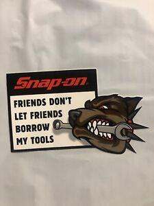 Snapon Friends Dont Let Friends Borrow My Tools Decal