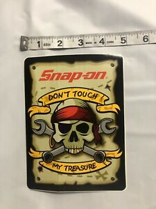 Snap On Tools Sticker Decal Don T Touch My Treasure Tool Box Fridge Window