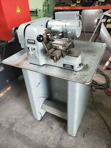 Hardinge Hsl 59 High speed Precision Benchtop Lathe W Factory Stand