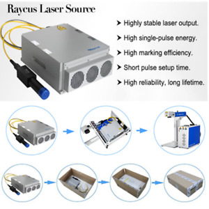 New Raycus Laser Source 20w Q switched Pulse 1064nm For Fiber Laser Marker
