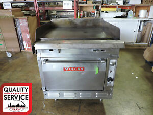 Vulcan 7860a Commercial Gas Griddle Top Range With Oven