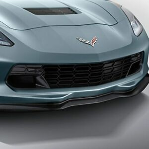 2014 2019 C7 Corvette Stingray Upgrade Z06 Grille Carbon Flash With Front Camera