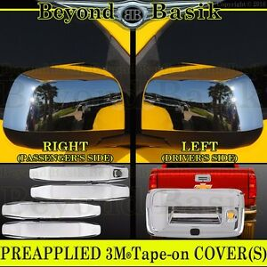 2014 2021 Chevy Colorado Gmc Canyon Chrome Door Handle Covers mirrors tailgate