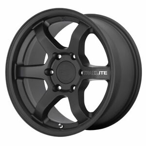 Four 4 17x8 5 Motegi Trailite Et 18 Black 6x114 3 6x4 5 Wheels Rims