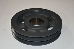 Browning Sheave 2tc100 Bushing Bore V belt Pulley 10 40 Od 2 Groove