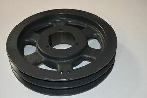 Browning Sheave 2tc106 Bushing Bore V belt Pulley Pd C 10 6 11 Od 2 Groove