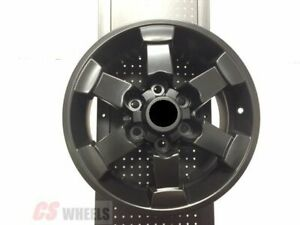 16 Off Road Matte Black Rims Wheels For Toyota Fj Cruiser Trail Teams Edition