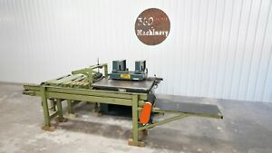 Diehl Sl 55 Straight Line Rip Saw W return Conveyor