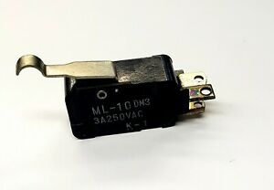 Mulon Ml 10dm3 Spdt n o Off on Simulated Roller Micro Switch 3a 250vac