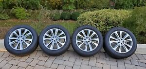 Mercedes Oem Gl450 Wheels And Michelin Premier Ltx Tires Great Condition