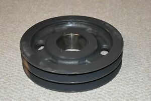Browning Sheave 2tc94 Bushing Bore V belt Pulley 2 Groove 9 80 In O d