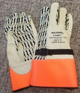 Lineman s Leather Protector Gloves High Voltage