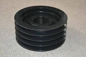 Browning Sheave 4tc88 Bushing Bore V belt Pulley 4 Groove 9 20 In O d