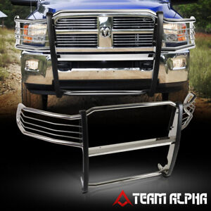 Fits 2009 2018 Dodge Ram 1500 Stainless Steel Ss 1 5 Bumper Grille Brush Guard