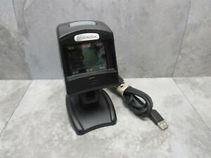 Datalogic Magellan 1100i 2d Omnidirectional Scanner Mg112041 001 412 W Stand