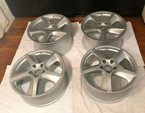 Oem Porsche Cayenne Turbo S Techno 20 Staggered Wheels Rims 9jx20 10jx20